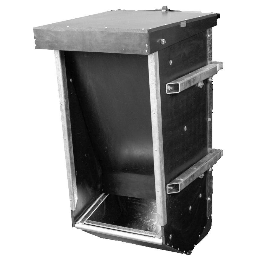 Kraftfoderautomat Udendørs Fritlagt